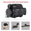 P4 0118 cámara Digital de visión nocturna de acción deportiva 5X Zoom Mini tamaño NV cámaras infrarrojas Monocular para ventas