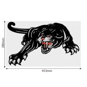 Image 5 - FORAUTO 45*28cm Auto Aufkleber Vinyl Tiger Auto Aufkleber Für Tür Kreative Aufkleber Für Auto Haube Dekoration Auto styling Zubehör