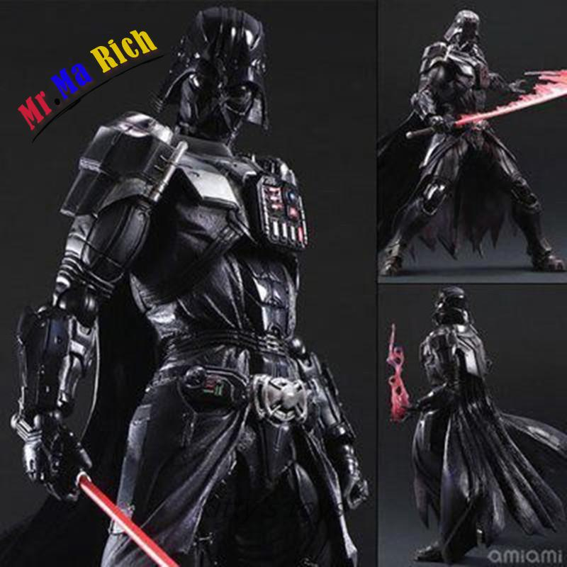 Star Wars Action Figure Playarts Kai Darth Vader Toys Collection Model Pvc 275mm Star Wars Vader Play Arts Kai playarts kai star wars stormtrooper pvc action figure collectible model toy