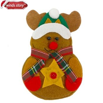 8pcs christmas decorations snowman