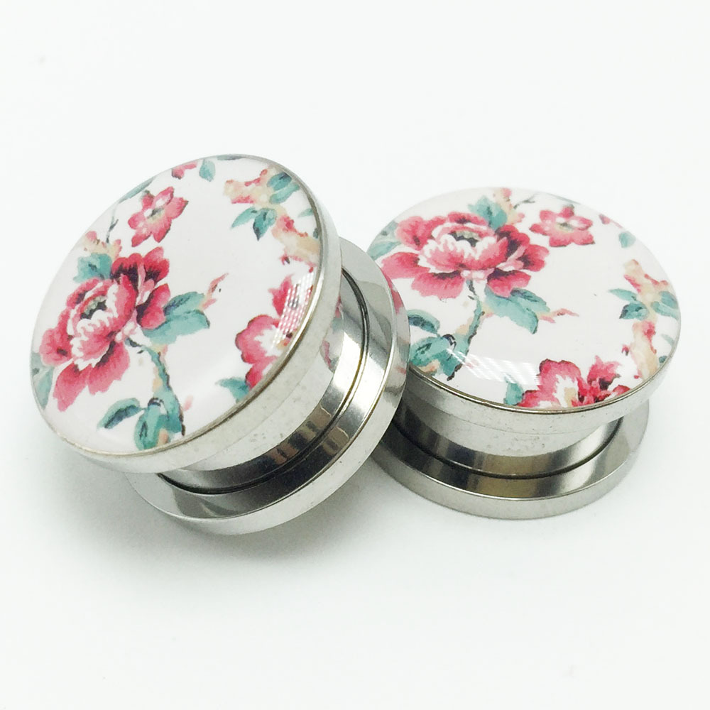 2PCS Stainless Steel Ear...