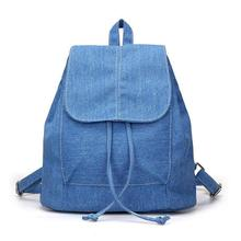 Men and women for the spring 2018 backpack Leisure canvas bag