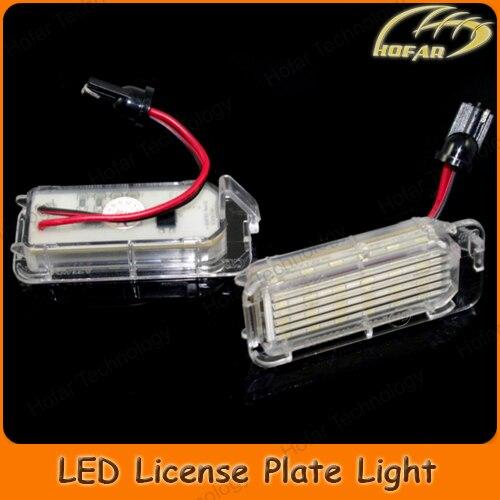 Ford Fiesta MK7 Rear Number Plate Lights