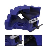 (Ship From DE)Angle Vise 100mm DIY Home Handle Tool Angle Clamp Vice Miter Welding Angle Workbench Craft Fixed Repair Tool