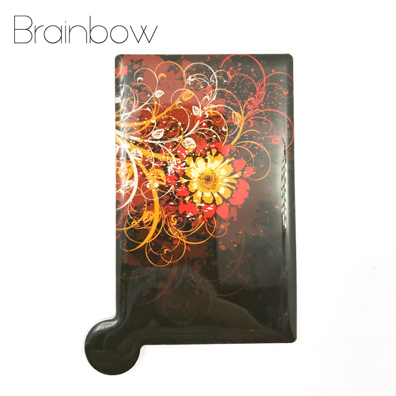 Brainbow 1pc Unbreakable Card Makeup <font><b>Mirror</b></font> Stainless Steel Shatter-Proof Pocket <font><b>Mirrors</b></font> Compact Portable <font><b>Mirror</b></font> with PU Case