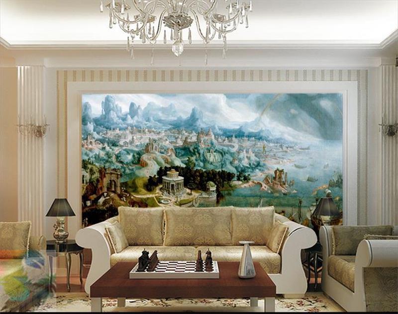 3d room wallpaper benutzerdefinierten wandbild vlies bild Helen in die wunder der alten welt wandmalerei fototapete für wände