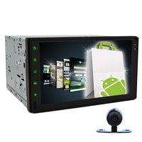 Double 2 Din Android 4 2 In Dash GPS Navigation Car Tablet PC 7 HD Car