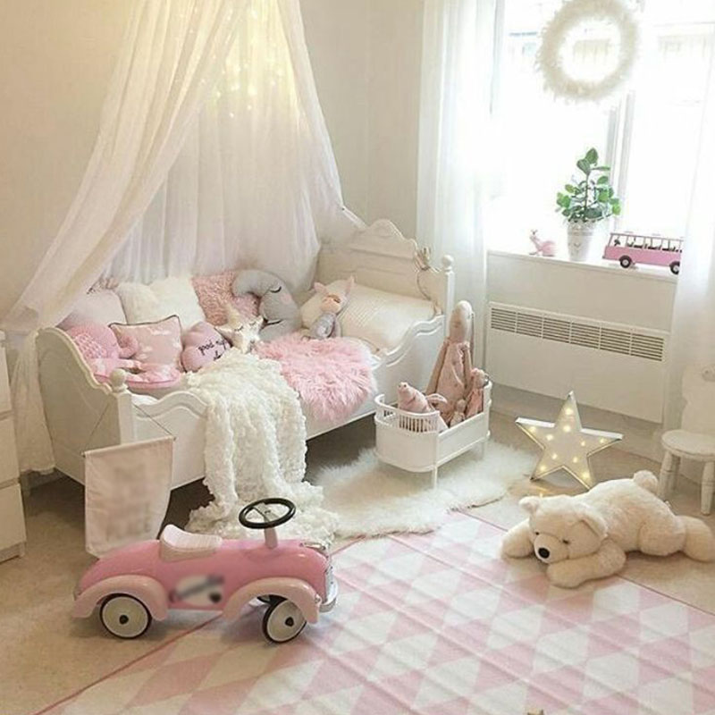 Baby Bed Curtain Children Room Decoration Netting Baby Tent Cotton Mosquito Net TB Sale