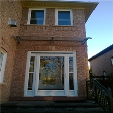 YP 150240 150x240cm freesky diy door canopy window awningrain canopies polycarbonate awning