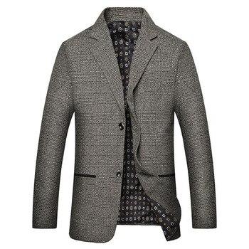 2019 Spring And Autumn Men's Slim Fit Mens Blazers Casual Suit business jacket Men Dress Suits classic coats Business mens