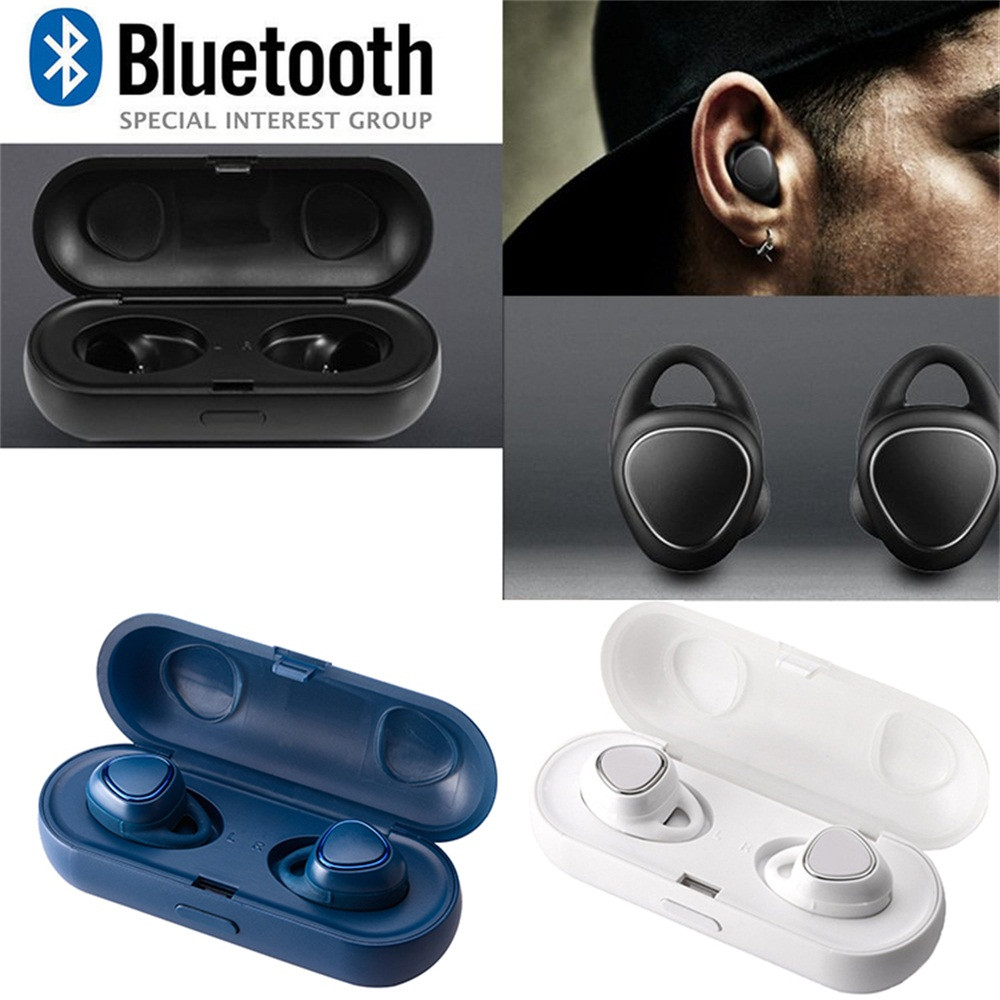 Écouteurs intra-auriculaires Sport HiFi intra-auriculaires sans fil tête sans fil pour Samsung Gear iConX SM-R150 casque bluetooth