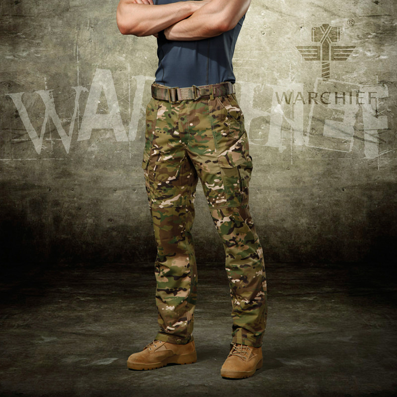 Men Military Camouflage Hunting Pants Outdoor Airsoft Shooting Trousers