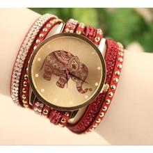 supper deal Velvet Diamond Bracelet Watch Women Watches Excessive Elephant Sample Aug06 supper enjoyable