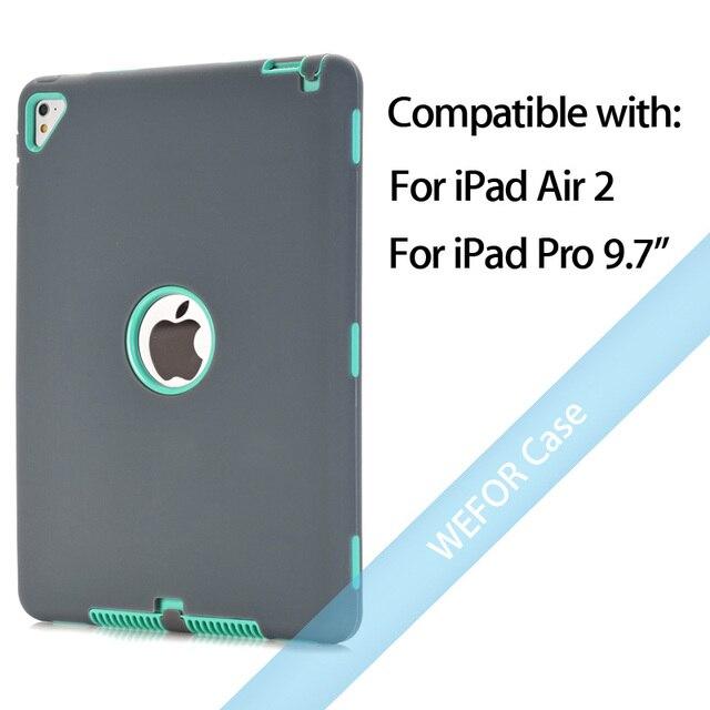 Grey and Mint Green Ipad pro cover 5c649ed9e3623