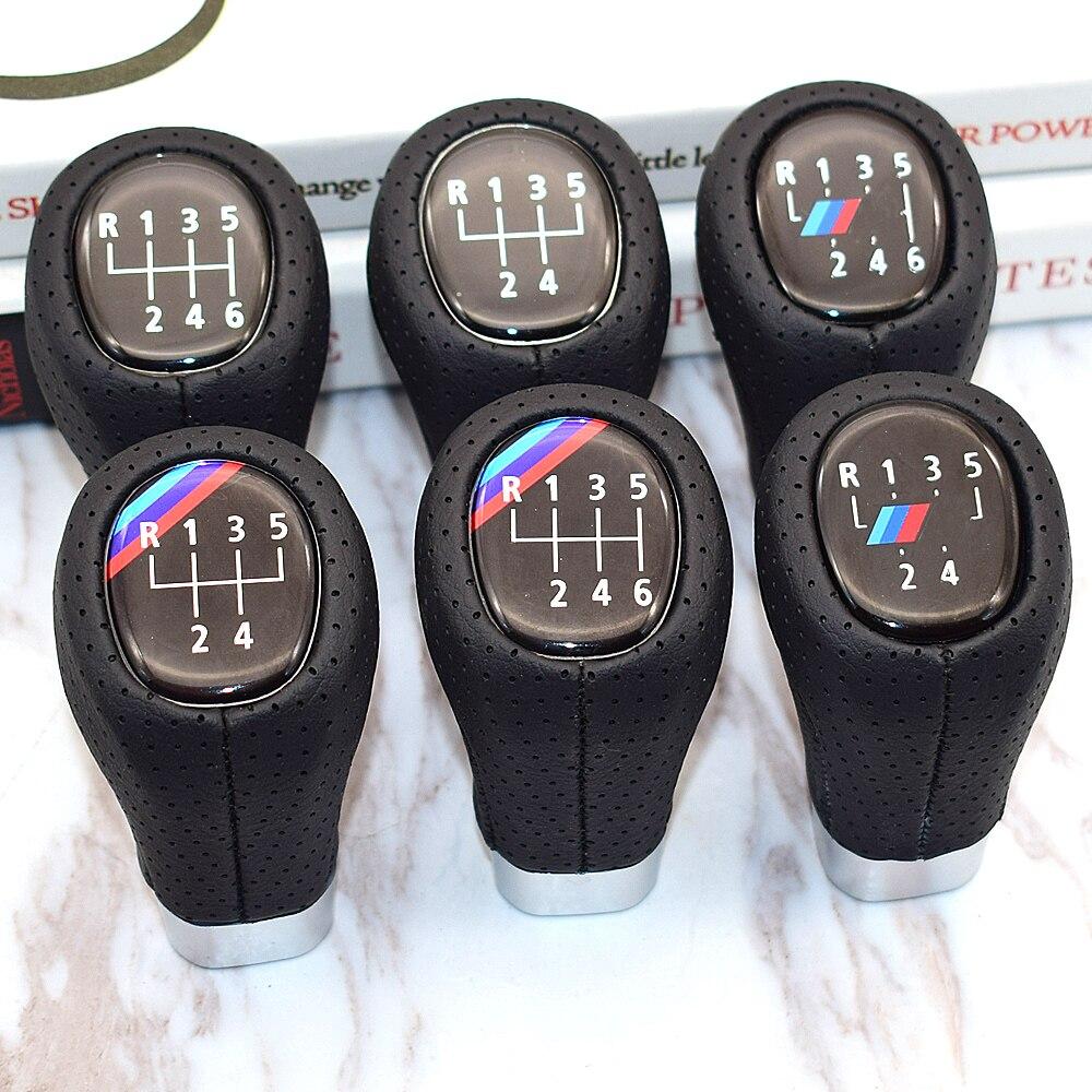 5 6 geschwindigkeit Schaltknauf Mit M Logo Für BMW 1 3 Serie E81 E82 E87 E88 E90 E91 e92 E93