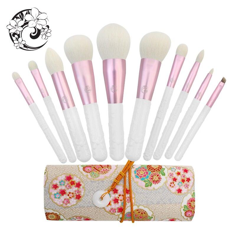Набор профессиональных кистей для макияжа от бренда ENERGY, 10 шт., кисти для макияжа Pinceaux Maquillage Brochas Pincel sch
