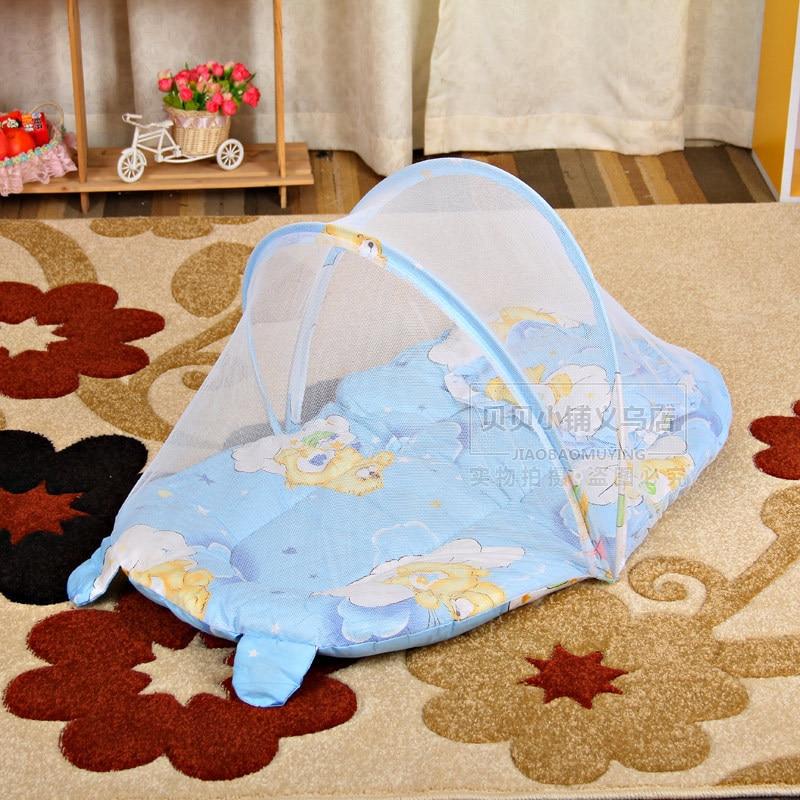 Draagbare Babybedje Klamboe Tent Functie Cradle Bed Zuigeling - Beddegoed - Foto 1