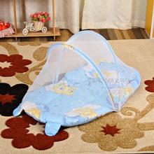 휴대용 아기 어린이 침대 모기장 텐트 기능 어린이 침대 소년 유아 침대 접이식 모기 그물 침대