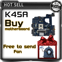 For ASUS K45A K45VD A45V K45VM K45VS A85V motherboard LA-8221P integrated without graphics card motherboard 100% tested