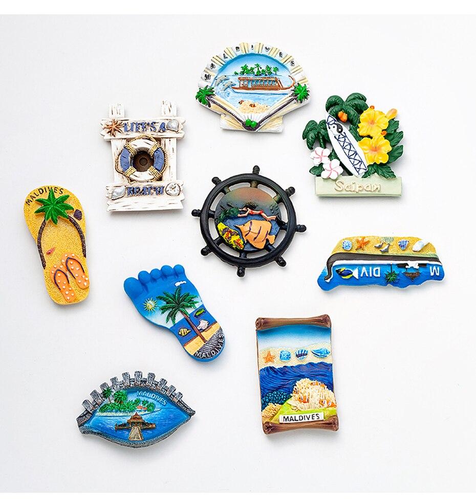 Seascape Ocean Fridge Magnet Souvenir 12