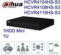 Dahua 4ch 8ch 16ch 1U HDCVI DVR CVR 720P-Lite HCVR4104HS-S3 HCVR4108HS-S3 HCVR4116HS-S3 para substituir HCVR4104/08/16HS-S2
