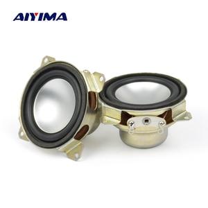 Image 1 - AIYIMA 2Pcs 1,5 Zoll Vollständige Palette Lautsprecher 8 Ohm 2W Neodym Magnet Tragbare Audio Lautsprecher Für Satelliten Spalte loudpeaker