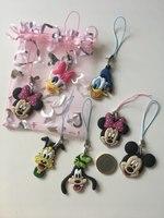1PCS Mickey Cartoon Figure Keychains for $4.99 4