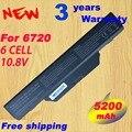 NUEVA 6 CELDAS de Batería Portátil para Compaq Compaq 615 610 Compaq 550 HP 6720 6720 s 6730 6735 s 6820 6820 s 6830 6830 s