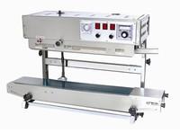 Full Auto vertical film sealing machine  band sealing machine with printing machine