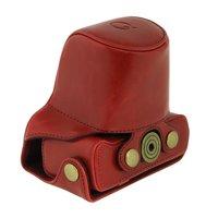 Professional For Pentax Q Q10 Camera Case 8 5mm 5 15mm Lens PU Leather Case Camera