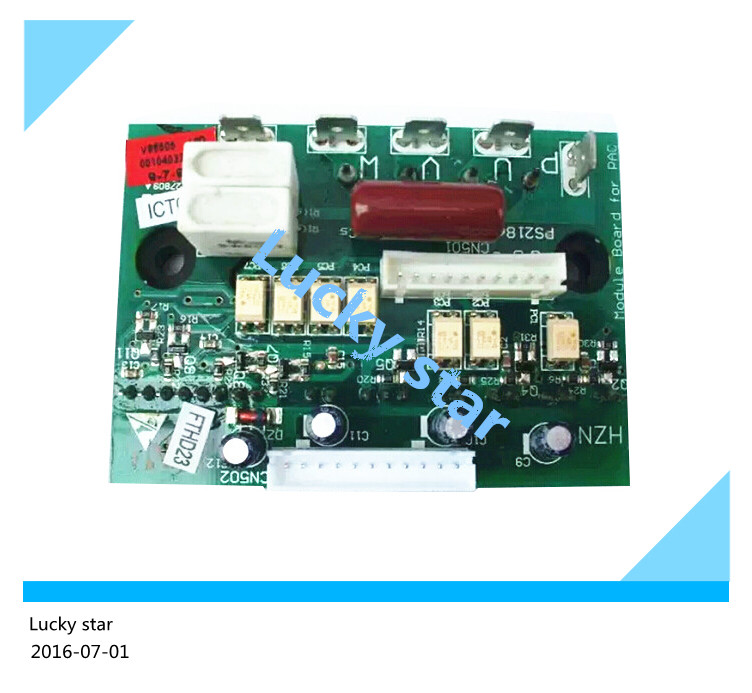 good working for Air conditioning Power module frequency conversion board KFR-58LW/BPF BPJXF 0010403366 used air conditioning frequency conversion module dkq kt 02a 05 01 kfr 2801gw bp pm20ctm060 used board good working