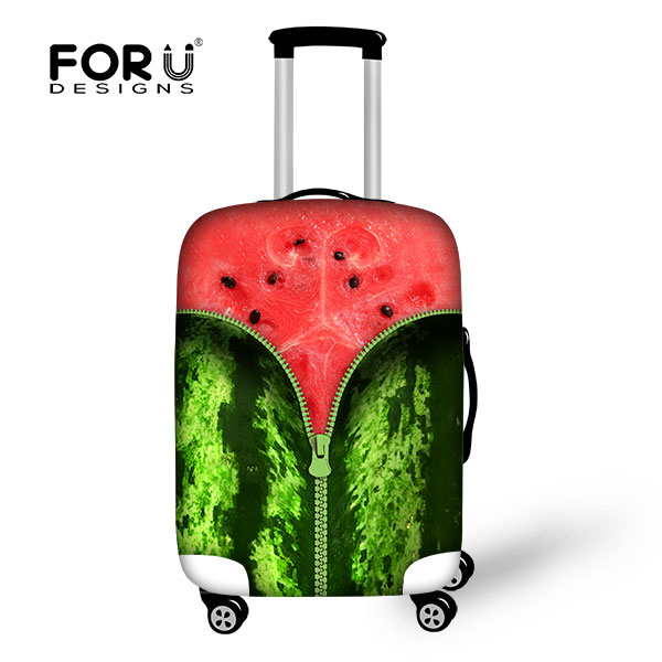 Fruits/Watermelon/Pineapple Style Cover for Suitcase Bags,Luggage Protective Covers for Men's Women Travel Suitcase Accessories