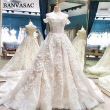 BANVASAC Ball Gown Wedding Dresses 2018 Bridal Gowns