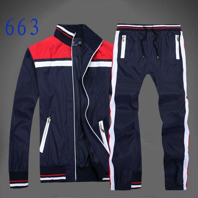 996a96f284b3 men s full zip polo tracksuit men sport suit cheap men sweatshirt and pant  suit hoodie and pant set sweatsuit men free shipping
