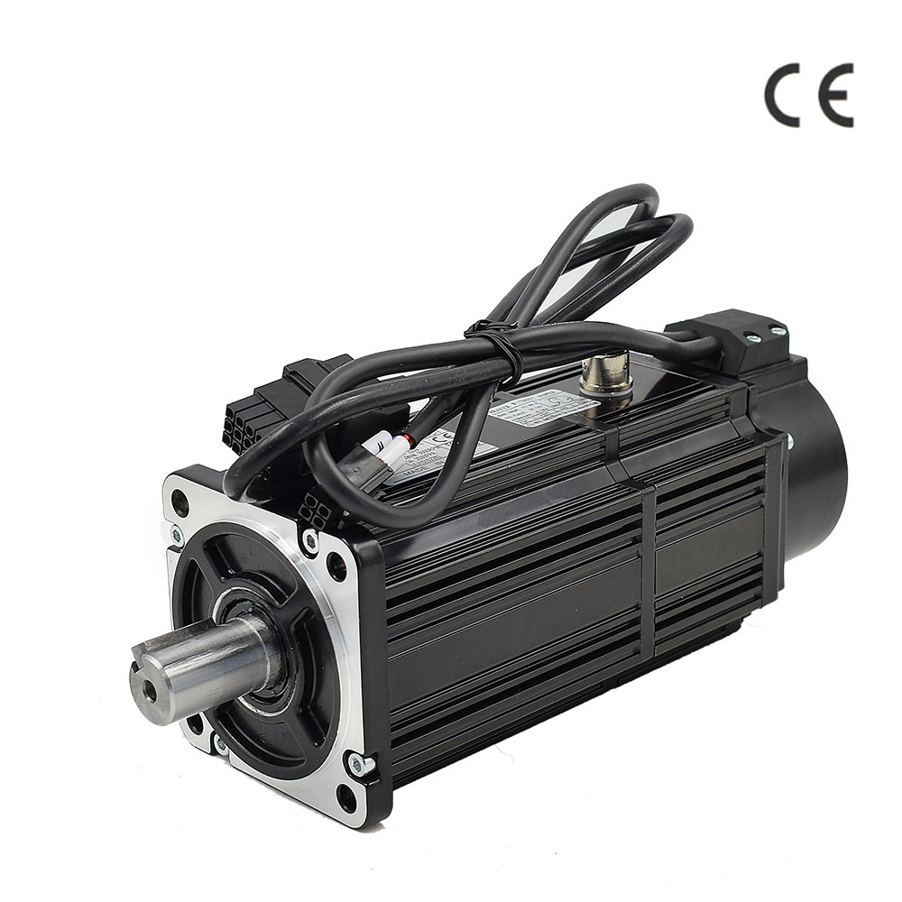 GH-6M04T013E 220V 400W AC Servo motor 400W,1.27NM,3000RPM servo motor Single-Phase With Match Driver
