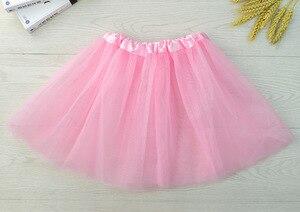 Модная балетная юбка-пачка для маленьких девочек, детские юбочки-пачки, летние 13 видов цветов юбки для девочек, костюм для танцев и вечерино...