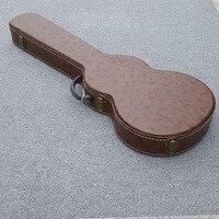 Высокое качество LP гитара жесткий футляр!