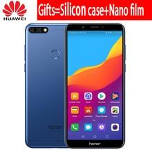 Original Huawei Honor 7C 3GB 32GB 5.99 inch Snapdragon 450 Octa Core Front 8.0MP Dual Rear Camera 3000mAh Fingerprint