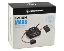 EZRUN Max8 V3 150A Waterproof Brushless ESC For RC 1/8 Traxxas E-REVO Traxxas Summit HPI Savage Thunder Tiger