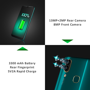 "Image 5 - LEAGOO S11 Android 9,0 4G смартфон 6,3 ""дисплей капли воды 4 Гб 64 Гб 3300 мАч Helio P22 13MP двойная камера отпечатков пальцев Смартфон"