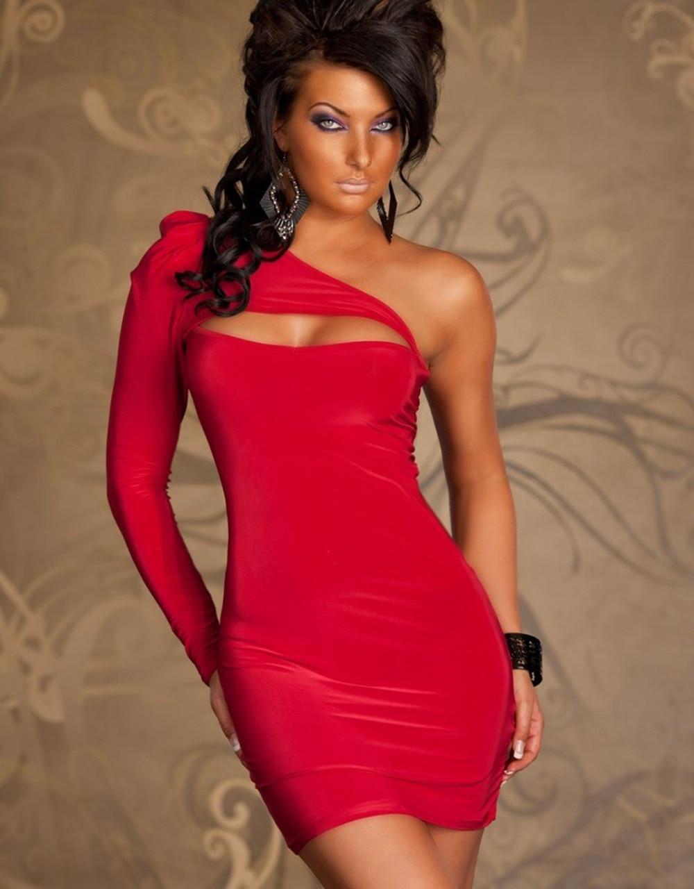 Promotion Robe Sexy Women Clubwear Dress 4 Color Stylish