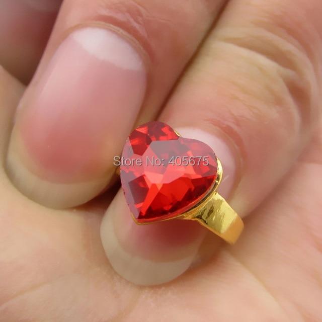 5pcs 2015 New heart nail art Rings design nail tools 3d nail jewelry ...