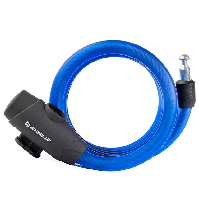 1.2m/1.8m Bike Cable Lock Anti Theft Steel Wire Safety Bicycle MTB ...