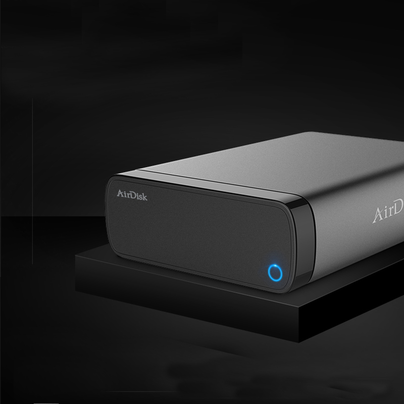 """Image 2 - Airdisk Q3C Mobile network hard disk USB3.0 Family Smart NAS Network Cloud Storage 3.5"""" Remotely Mobile Hard Disk Box(NOT HDD)-in Networking Storage from Computer & Office"""