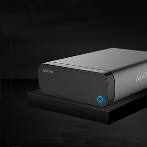 """Image 2 - Airdisk Q3C Mobile network hard disk USB3.0 Family Smart NAS Network Cloud Storage 3.5"""" Remotely Mobile Hard Disk Box(NOT HDD)"""