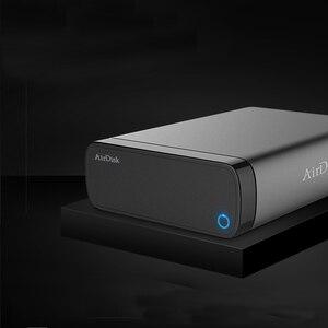 """Image 2 - Airdisk Q3C disque dur réseau Mobile USB3.0 famille NAS intelligent stockage en nuage réseau 3.5 """"à distance boîte de disque dur Mobile (pas HDD)"""