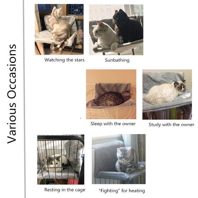 Removable Window Hammocks for Cat  2