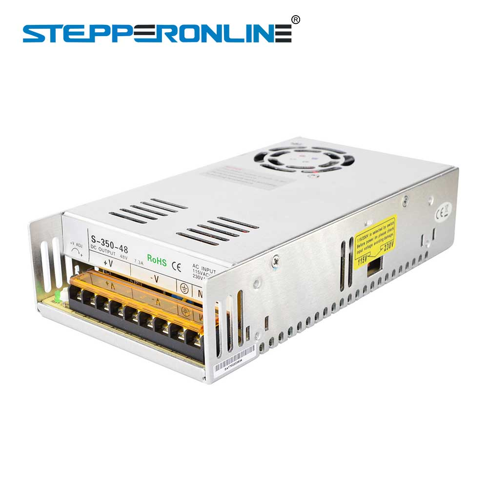 DC48V 350W 7.3A Switching Power Supply 115V/230V for Stepper Motor /CNC Router/ DIY 3D printer dc48v 500w 10 4a switching power supply 115v 230v to stepper motor diy cnc router