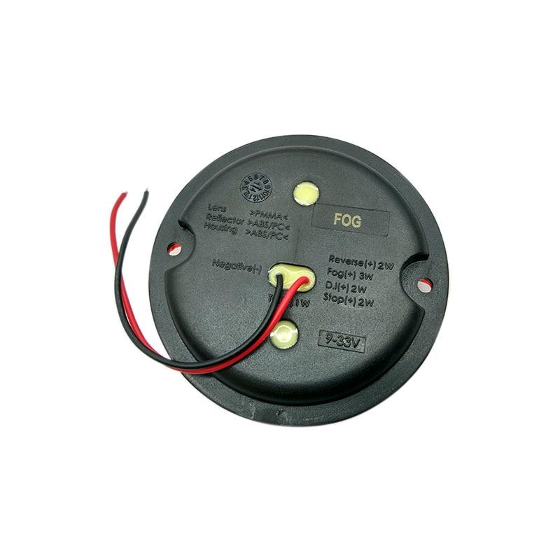 2Pcs 12V / 24V 95MM στρογγυλά LED φώτα ομίχλης - Φώτα αυτοκινήτων - Φωτογραφία 5
