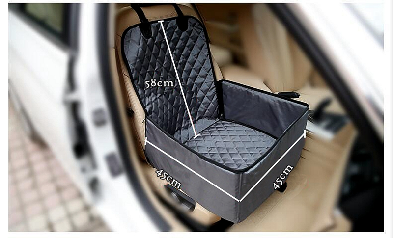 STK Car Sell Deluxe Pet Carrier Car Travel Bag for Dog, Cat